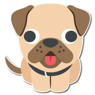 Emoji One Animals & Nature Wall Icon: Dog