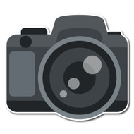 Emoji One Objects Wall Icon: Camera