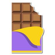 Emoji One Food & Drink Wall Icon: Chocolate Bar