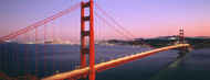 Standard Photo Board: Night Golden Gate Bridge San Francisco - AMER