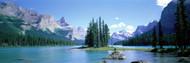 Privacy Screen: Maligne Lake Alberta Canada