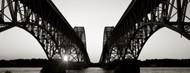 Privacy Screen: South Grand Island Bridges Niagara River