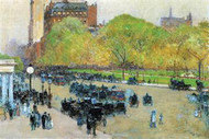 Spring Morning in The Heart Of Manhattan by Hassam
