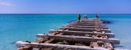Privacy Screen: Old Pier Coquina Beach Anna Maria Island