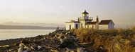 Privacy Screen: West Point Lighthouse Seattle