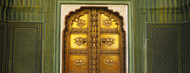 Standard Photo Board: Door at Jaipur City Palace - AMER