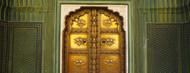 Privacy Screen: Door at Jaipur City Palace