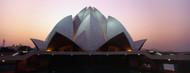 Privacy Screen: Lotus Temple Delhi at Dusk