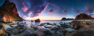 Standard Photo Board: Utakleiv Sunset by Dr. Nicholas Roemmelt - AMER