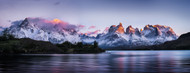 Privacy Screen: Cuernos Del Paine by Ignacio Palacios