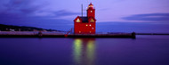 Privacy Screen: Red Lighthouse Holland Michigan