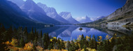 Standard Photo Board: Mountains Reflected In Lake Glacier National Park - AMER