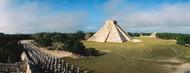Privacy Screen: Pyramid Chichen Itza Mexico