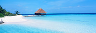 Extra Large Photo Board: Beach Scene The Maldives - AMER