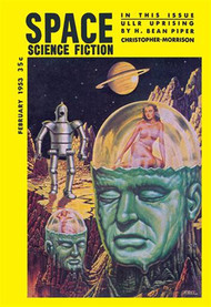 Space Science Fiction February 1953