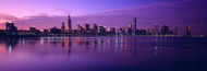 Standard Photo Board: Chicago Skyline from Lake Michigan - AMER - INDY