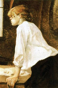 The Laundress by Toulouse-Lautrec