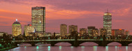 Standard Photo Board: Back Bay Boston at Dusk - AMER