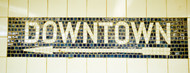 Standard Photo Board: New York City Subway Sign - AMER