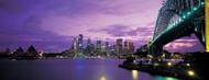 Standard Photo Board: Sydney Harbor And Bridge Night - AMER