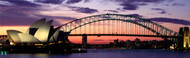 Extra Large Photo Board: Sydney Harbour Bridge At Sunset - AMER - INDY
