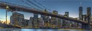 Standard Photo Board: New York - Blue Hour Over Manhattan by Michael Jurek - AMER - INDY