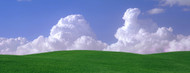Standard Photo Board: Green Fields and Clouds - AMER