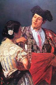 Toreador with Young Girl by Cassatt