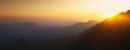 Standard Photo Board: Sunset Sequoia National Park CA - AMER