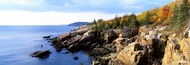 Extra Large Photo Board: Rock Formation Seaside Acadia National Park - AMER