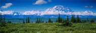 Extra Large Photo Board: Clouds Over Mountains Denali National Park - AMER