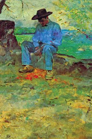 The Young Routy in Celeyran by Toulouse-Lautrec
