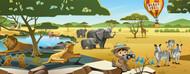 Standard Photo Board: Serengenti 4 - AMER