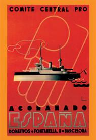 Comite Central Pro, Acorazado Espana