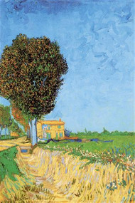 Lane Near Arles by Vincent Van Gogh