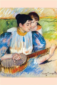 Banjo Lesson by Mary Cassatt
