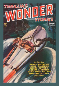 Thrilling Wonder Stories Sheena X Machine