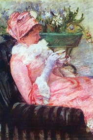 Cup of Tea by Mary Cassatt