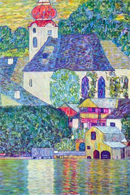 St. Wolfgang Church by Gustav Klimt
