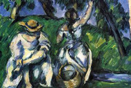 Figures by Cezanne