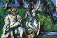 Figures by Cezanne