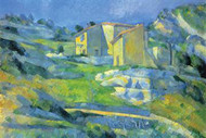 House in Provence by Cezanne