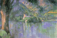 Le Lac Annecy by Cezanne