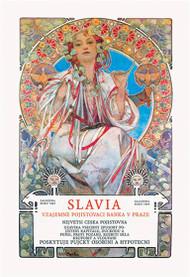 Slavia insurance Company by Alphonse Mucha