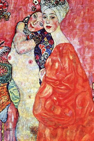 Girlfriends by Gustav Klimt