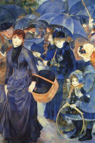 Les Para Pluies by Renoir
