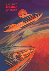 Atomic Airships of Mars