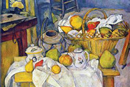 Still Life Bowl of Apples by Cezanne