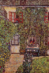 House of Guard by Gustav Klimt