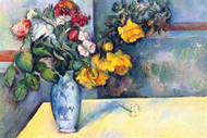 Still Life with Flowers in a Vase by Cezanne